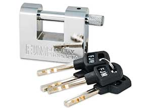 ​FJM Security SPA60-KA Security Padlock