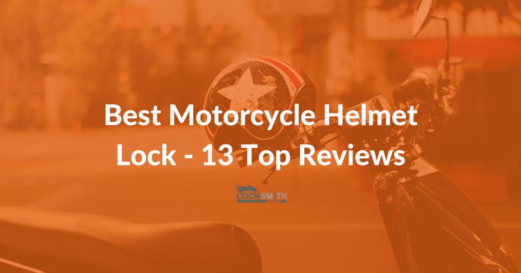 best motorcycle helmet lock reviews